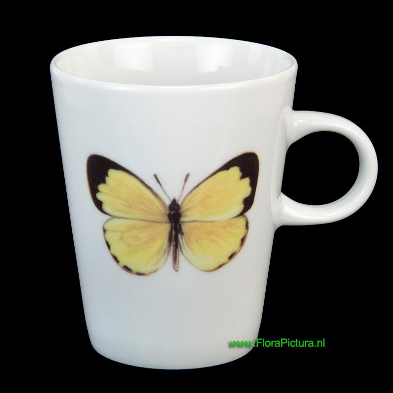 Beker gele grasvlinder