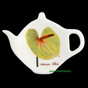 Theezakjeshouder Anthurium